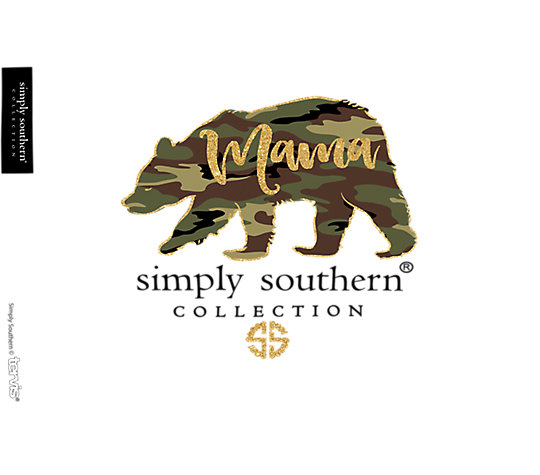 Simply Southern® - Camo Mama Bear image number 1