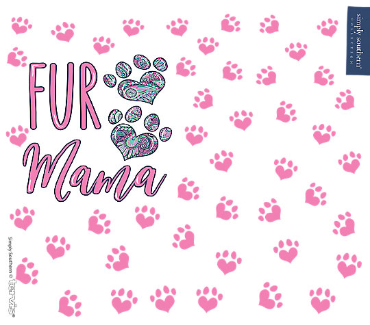 Simply Southern® - Fur Mama Bear image number 1