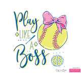 Simply Southern® - Play Like a Boss Softball