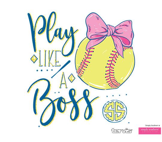 Simply Southern® - Play Like a Boss Softball