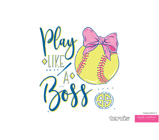 Simply Southern® - Play Like a Boss Softball image number 1