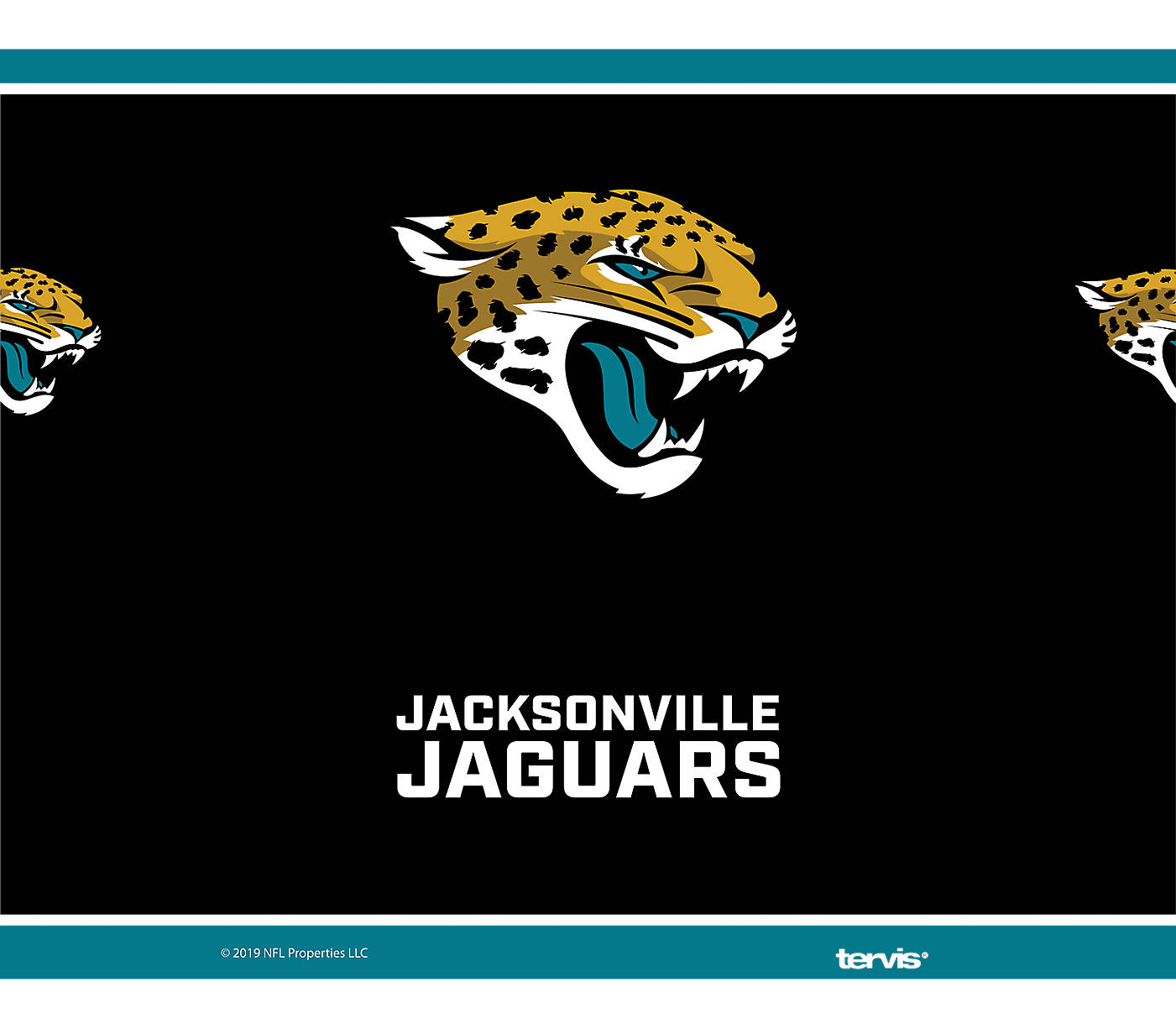 14a31406 NFL® Jacksonville Jaguars - Touchdown Stainless Steel With Water Bottle Lid