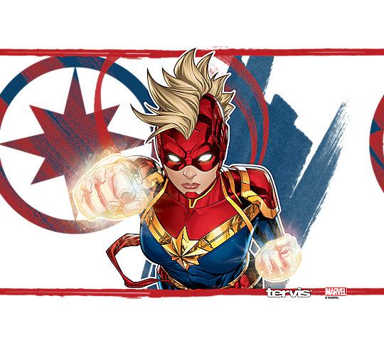 Marvel® - Captain Marvel Mohawk image number 1