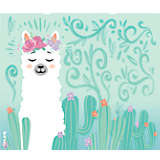 Llama Flora
