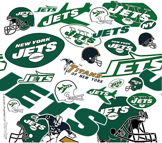 NFL® New York Jets - All Over image number 1