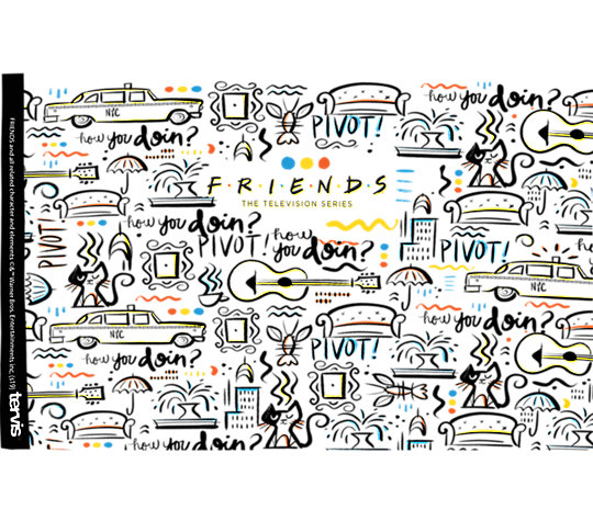 Warner Brothers - Friends Pattern image number 1