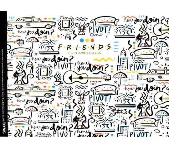 Warner Brothers - Friends Pattern image number 1