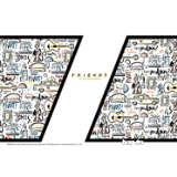 Warner Brothers - Friends Pattern