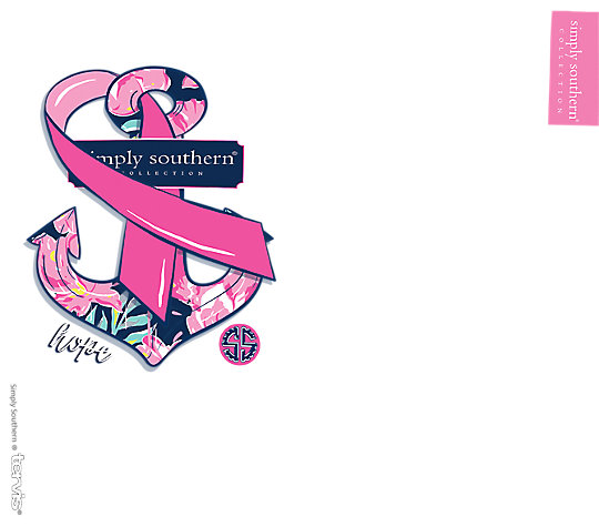 Simply Southern® - Breast Cancer Awareness Hope Anchor image number 1