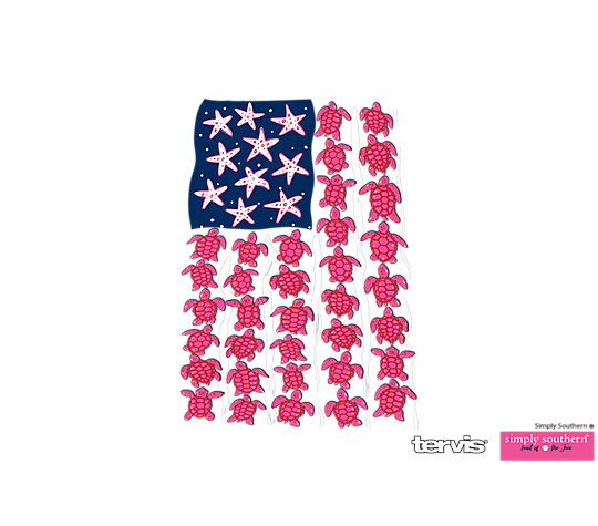 Simply Southern® - Turtle Flag