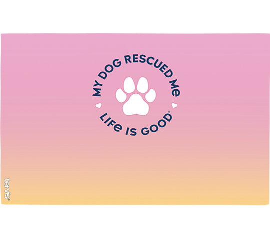 Life is Good® - Dog Rescued Me image number 1