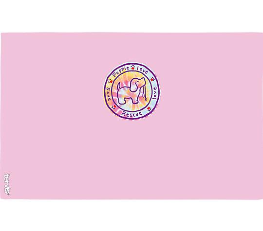 Puppie Love - Pink Tie Dye Pup image number 1