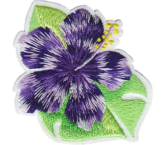 Island Purple Hibiscus image number 1