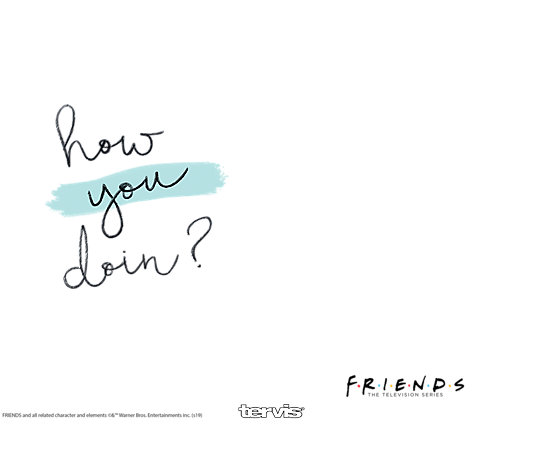 Warner Brothers - Friends How You Doin image number 1