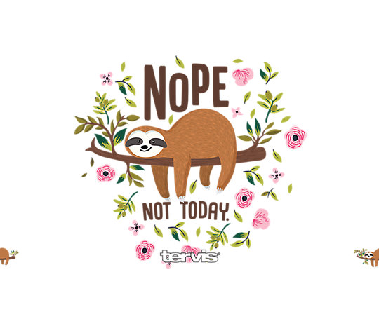 Sloth Nope Not Today image number 1