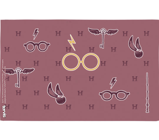Harry Potter™ - Maroon and Gold Glasses image number 1