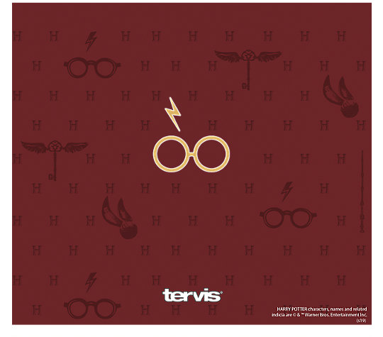 Harry Potter™ - Maroon and Gold Glasses