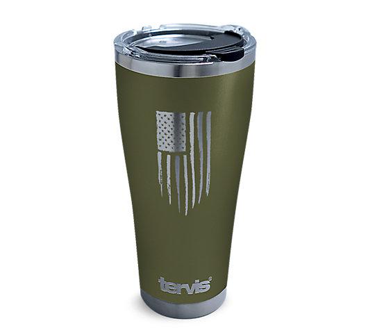 American Flag Laser-Engraved Olive image number 0