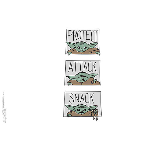 Mandalorian - The Child Protect Attack Snack