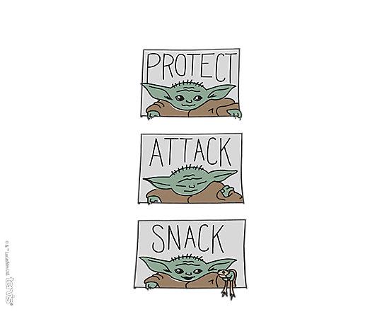 Mandalorian - The Child Protect Attack Snack