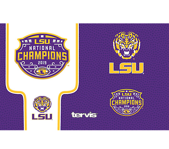 LSU Tigers 2019 College Football National Champions image number 1