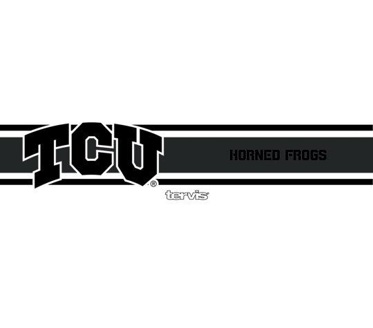 TCU Horned Frogs Black Stripe
