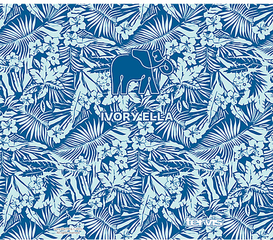 Ivory Ella - Blue Tropical