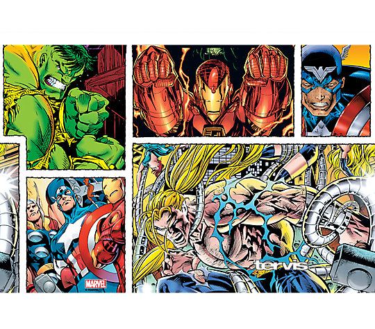 Marvel - Avengers 90's Comic Limited Edition image number 1