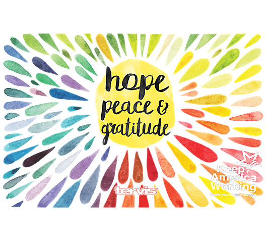 Hope Peace Gratitude image number 1