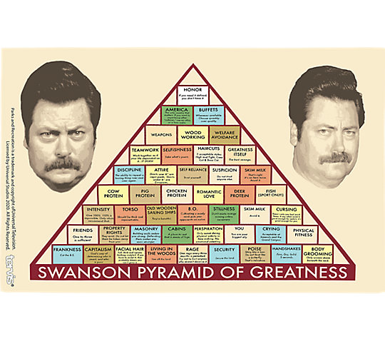 Parks and Recreation - Greatness Pyramid image number 1