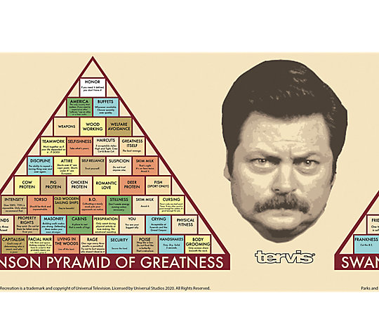 Parks and Recreation - Greatness Pyramid