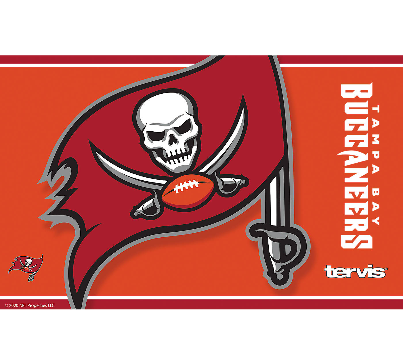 Nfl Tampa Bay Buccaneers Color Rush Tervis