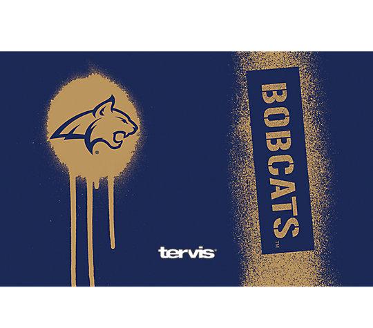 Montana State Bobcats Graffiti