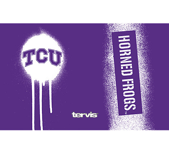 TCU Horned Frogs Graffiti