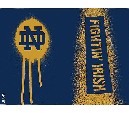 Notre Dame Fighting Irish Graffiti