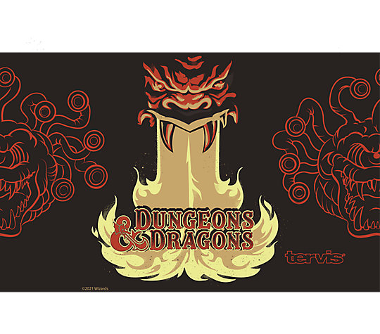 Dungeons and Dragons Breathing Dragon