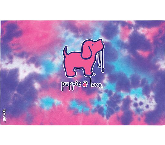 Puppie Love - Tail Wag Tie Dye