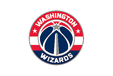 Clear Tervis NBA Washington Wizards Secondary Logo Tumbler with Emblem and Red Lid 16oz Mug