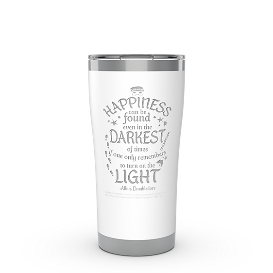 Harry Potter™ - Happiness Quote Engraved on Glacier White