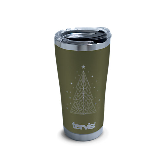 Christmas Tree Engraved on Olive image number 0