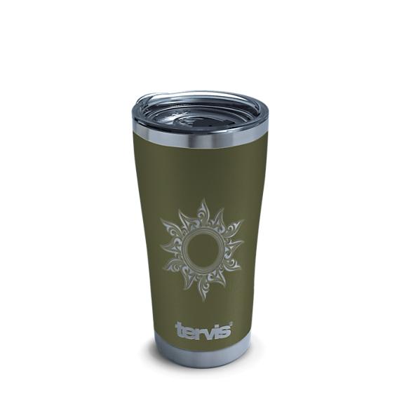 Sun Engraved on Olive