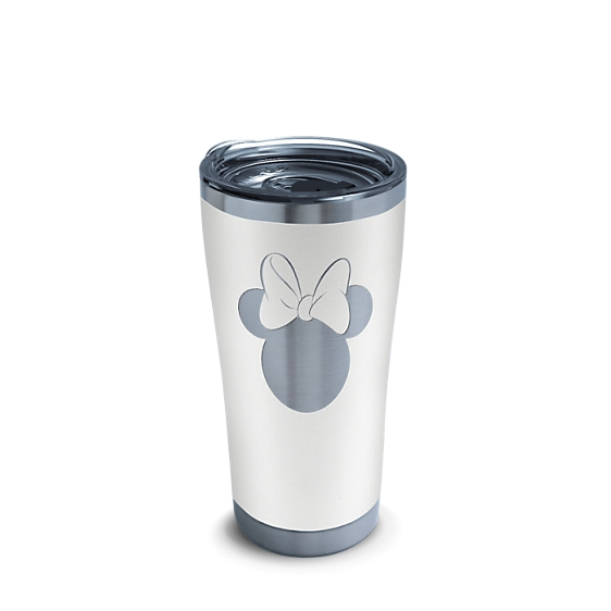 Disney® - Minnie Silhouette Engraved on Glacier White