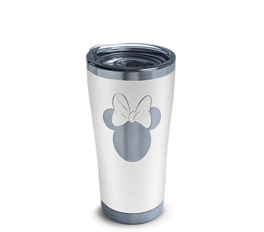 Disney® - Minnie Silhouette Engraved on Glacier White