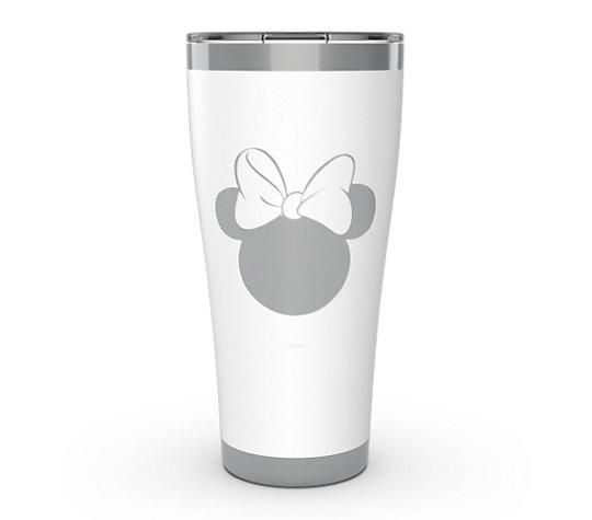 Disney - Minnie Silhouette Engraved on Glacier White