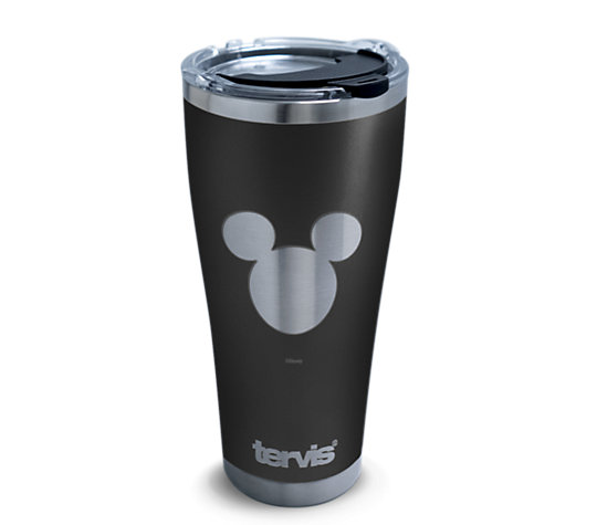 Disney® - Mickey Silhouette Engraved on Black image number 0