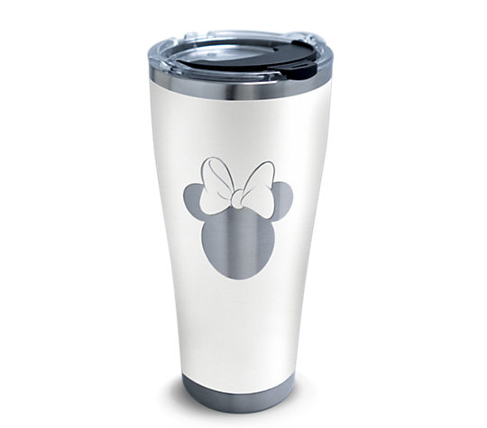 Disney® - Minnie Silhouette Engraved on Glacier White image number 0