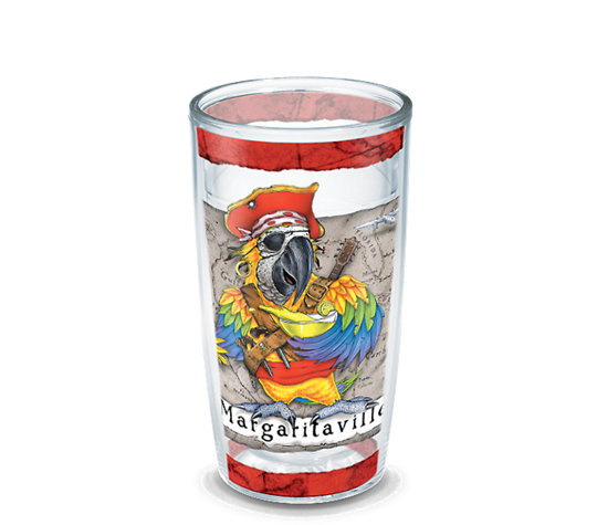 Margaritaville 174 Parrot Pirate Wrap Tervis Official Store