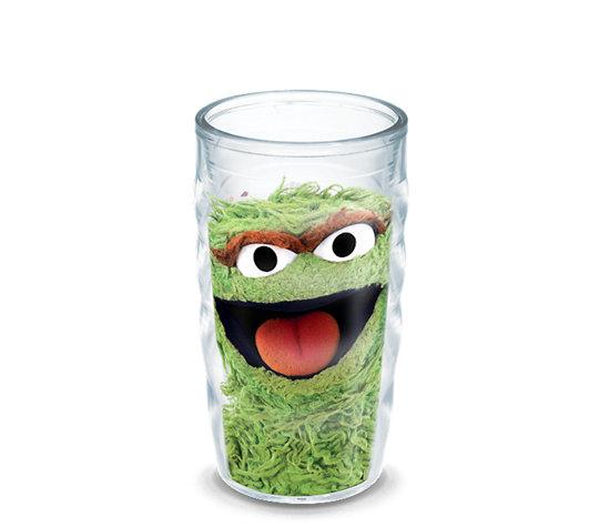Sesame Street 174 Oscar The Grouch Wrap With Lid Tervis