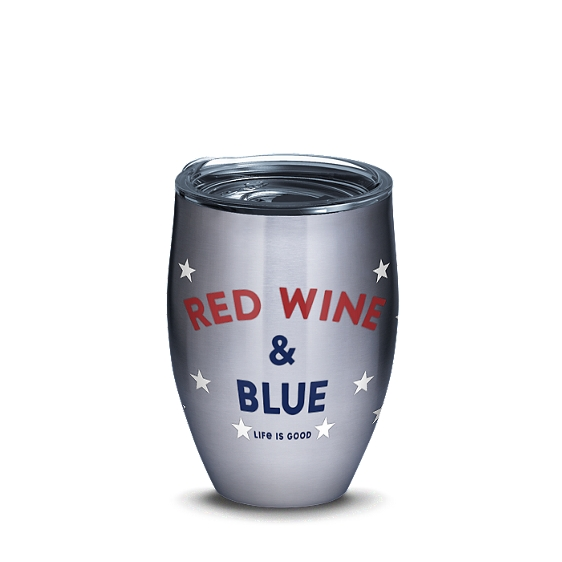 Life is Good® - Red Wine and Blue