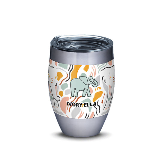 Ivory Ella - Abstract Elephant